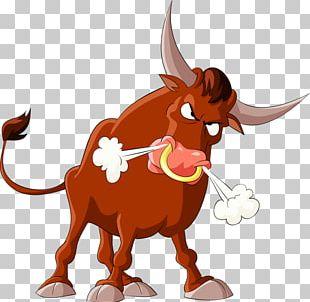 Bull Cattle Illustration PNG
