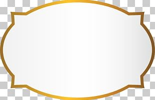Golden Circle Background PNG
