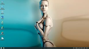 Humanoid Robot Android Desktop Neytiri PNG