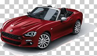 2017 FIAT 124 Spider Car Mazda MX-5 Alfa Romeo Spider PNG