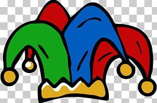 Cap And Bells Jester Hat Joker PNG