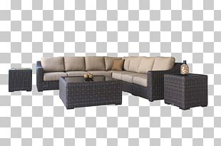 Garden Furniture Couch Chair Patio PNG