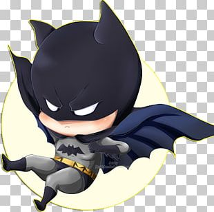 Batman Catwoman Batgirl Chibi Drawing PNG