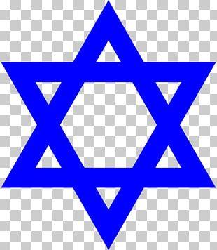 Star Of David Judaism Symbol Jewish People PNG