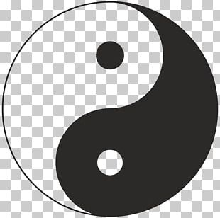 Yin And Yang Symbol Taijitu Meaning Sign PNG