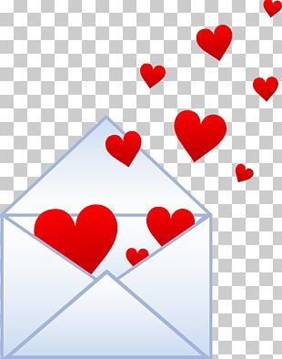 Love Letter Valentines Day Heart PNG