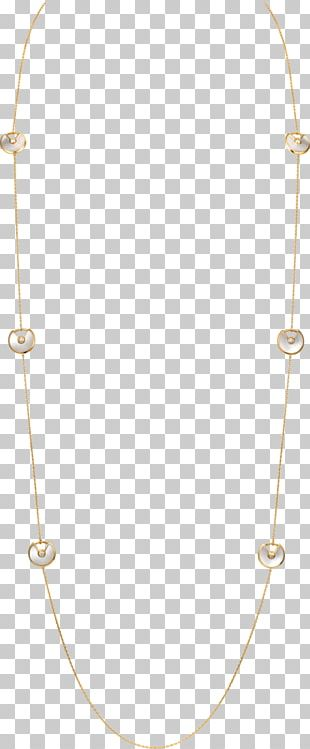Necklace Chain Jewelry Design PNG