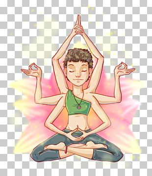 Cartoon Character Yoga Fiction PNG