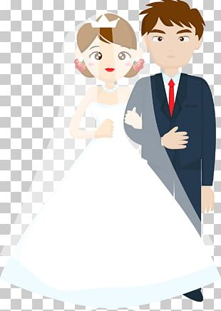 Wedding Bride Illustration PNG