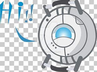 Cartoon Drawing Wheatley Portal PNG