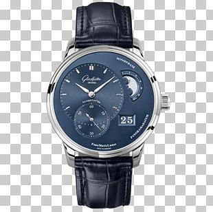 Glashütte Original Watch Movement Clock PNG
