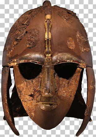Sutton Hoo Helmet 7th Century British Museum Ship Burial PNG