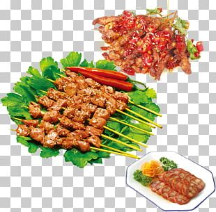 Barbecue Kebab Chuan Meat PNG