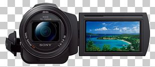 Sony Handycam FDR-AX33 4K Resolution Camcorder PNG