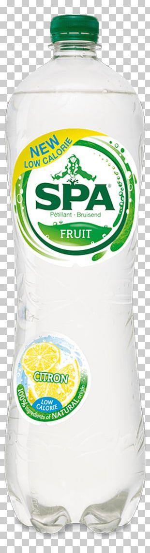 Spa Fruit Lemon Fizzy Drinks Mineral Water PNG