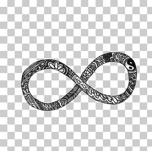 Infinity Symbol Header Desktop PNG
