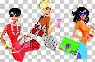 Fashion Handbag Woman Illustration PNG