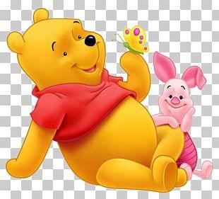 Winnie The Pooh Piglet Tigger Eeyore Love PNG