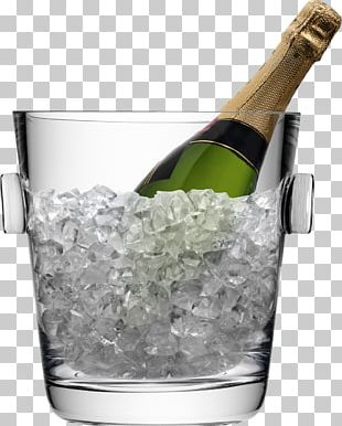 Champagne Glass Wine Bucket PNG