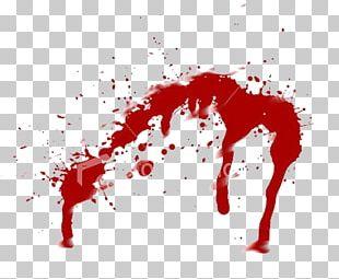 Blood Splatter Film Illustration PNG