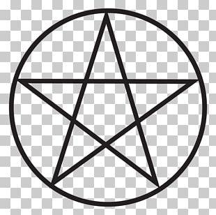 Pentagram Pentacle Wicca Star Of David Symbol PNG