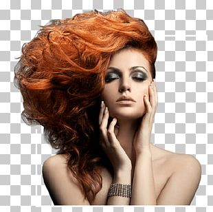 Beauty Parlour Hairstyle Cosmetologist Model Hair Coloring PNG