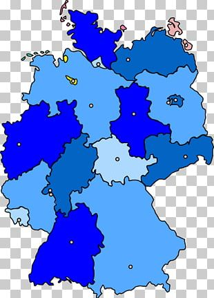 Germany Map Open Graphics PNG