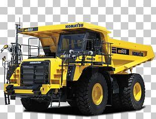 Komatsu Limited Caterpillar Inc. Heavy Machinery Dump Truck Mining PNG