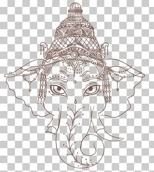 Ganesha Tattoo Artist PNG