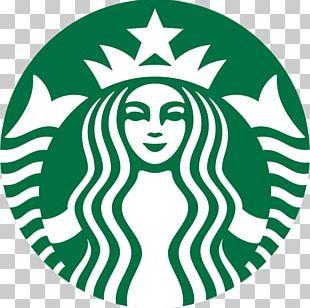 Cafe Starbucks Coffee Latte Logo PNG