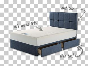 Bed Frame Mattress Box-spring Sofa Bed PNG