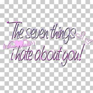 Logo Brand Handwriting Pink M Font PNG