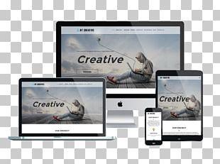Responsive Web Design WordPress Web Template System Joomla PNG