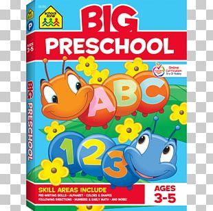 Big Preschool Big Kindergarten Workbook Pre-school Education School Zone PNG