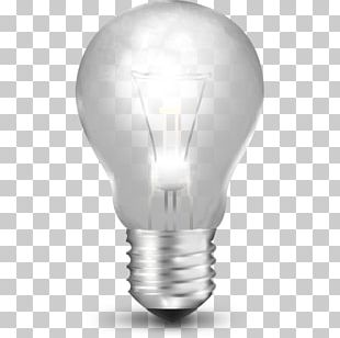 Incandescent Light Bulb Lighting Icon PNG