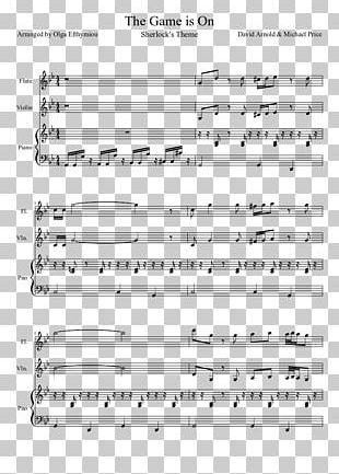 Sheet Music Dynamite Just The Way You Are Part PNG