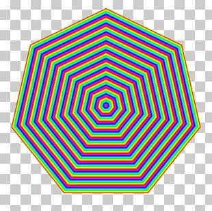 Heptagon Shape Geometry Hexagon Pattern PNG