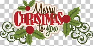 Merry Christmas To You Text PNG