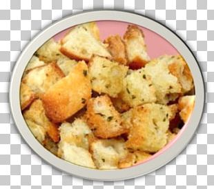 Side Dish Stuffing Recipe Crouton Cuisine PNG