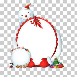 Snowman Christmas Ornament Poster PNG