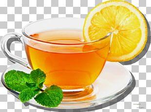 Green Tea White Tea Lemon PNG