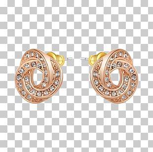 Earring Jewellery Gemstone Gold Plating Diamond PNG