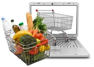 Grocery Store Online Grocer Delivery Online Shopping PNG