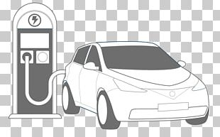 Electric Vehicle Electric Car Charging Station PNG