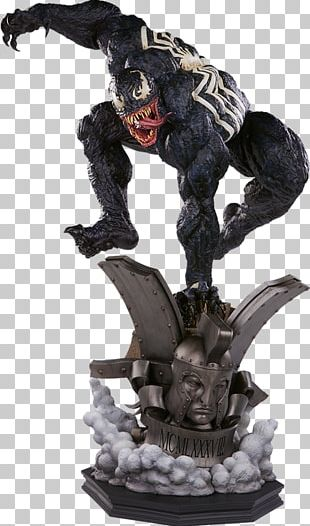 Venom Spider-Man Ego The Living Planet Sideshow Collectibles Statue PNG