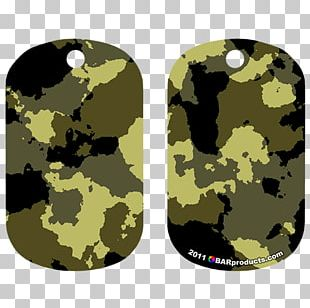 Military Camouflage Dog Tag Pet Tag PNG