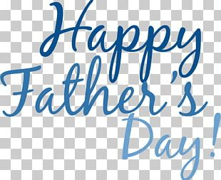 Happy Fathers Day Simple Text PNG