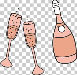 Champagne Wine Party PNG