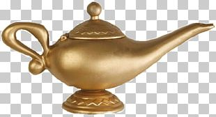 Genie Aladdin Light Oil Lamp PNG
