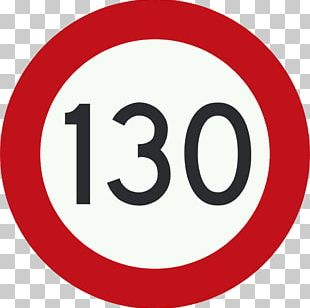 Speed Limit Traffic Sign Italy Miles Per Hour PNG